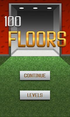 Screenshots of the 100 Floors for Android tablet, phone.