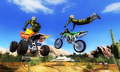 Screenshots of the 2XL MX Offroad for Android tablet, phone.