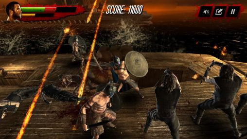 Screenshots of the 300: Rise of an Empire. Seize your glory for Android tablet, phone.