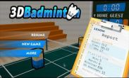 In addition to the game Endless Escape for Android phones and tablets, you can also download 3D Badminton for free.