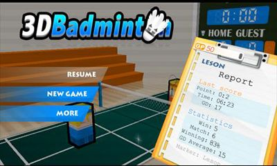 Download 3D Badminton Android free game. Get full version of Android apk app 3D Badminton for tablet and phone.
