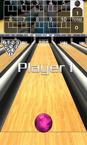 Screenshots of the 3D Bowling for Android tablet, phone.
