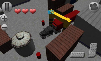 Screenshots of the 3D Truck Parking for Android tablet, phone.