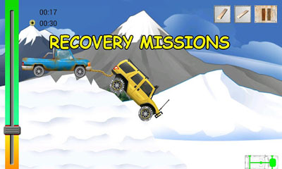Screenshots of the 4x4 Adventures for Android tablet, phone.