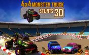 4x4 monster truck: Stunts 3D free download. 4x4 monster truck: Stunts 3D full Android apk version for tablets and phones.