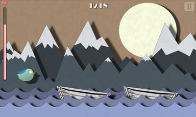 Screenshots of the A Tiny Bird's Journey for Android tablet, phone.