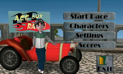 Screenshots of the Ace Box Race for Android tablet, phone.