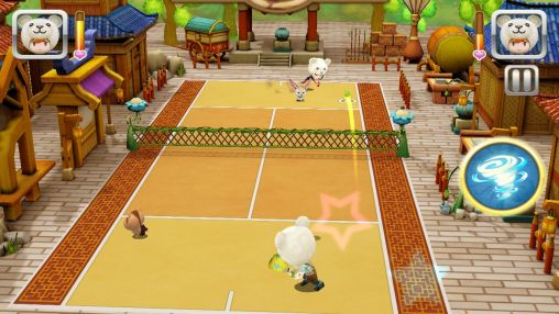 Screenshots of the Ace of tennis for Android tablet, phone.