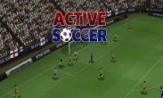 In addition to the game Small fry for Android phones and tablets, you can also download Active Soccer for free.