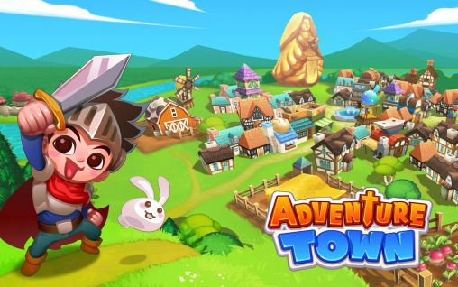 Screenshots of the Adventure town for Android tablet, phone.