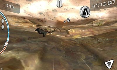 Screenshots of the After Earth for Android tablet, phone.