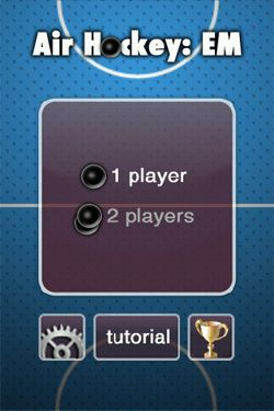 Screenshots of the Air Hockey EM for Android tablet, phone.