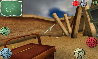 Screenshots of the Air Wings for Android tablet, phone.