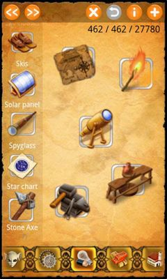 Screenshots of the Alchemy Classic for Android tablet, phone.