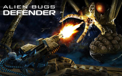 Screenshots of the Alien bugs defender for Android tablet, phone.
