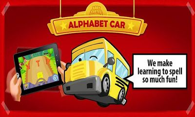 Screenshots of the Alphabet Car for Android tablet, phone.