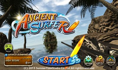 Screenshots of the Ancient Surfer for Android tablet, phone.