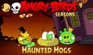 In addition to the game SpaceCat for Android phones and tablets, you can also download Angry Birds Seasons Haunted Hogs! for free.
