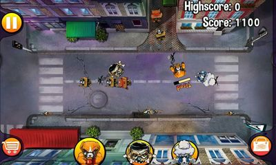 Screenshots of the Angry Dogs for Android tablet, phone.