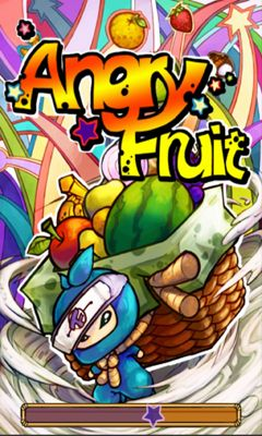 Screenshots of the Angry Fruit for Android tablet, phone.