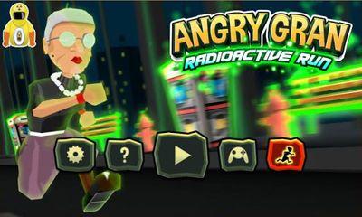 Angry Gran RadioActive Run - Android game screenshots. Gameplay Angry