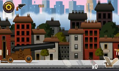 Screenshots of the Angry Gran Toss for Android tablet, phone.