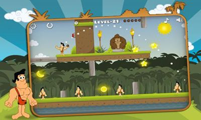 Screenshots of the Angry Tarzan for Android tablet, phone.