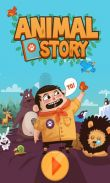 In addition to the game N.O.V.A. 3 - Near Orbit Vanguard Alliance for Android phones and tablets, you can also download Animal Story for free.