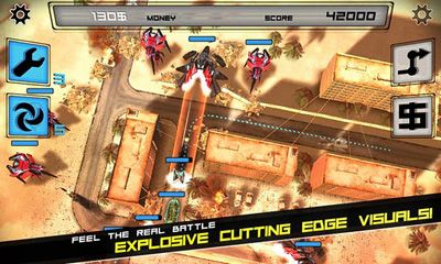 Screenshots of the Anomaly Warzone Earth for Android tablet, phone.