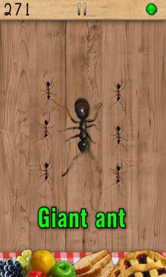 Screenshots of the Ant Smasher for Android tablet, phone.