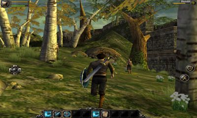 Screenshots of the Aralon Sword and Shadow HD for Android tablet, phone.