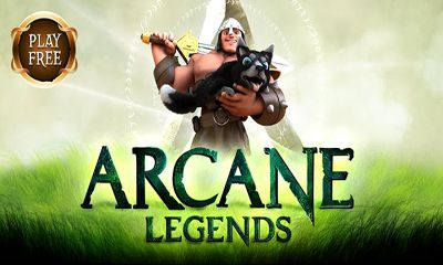 Screenshots of the Arcane Legends for Android tablet, phone.