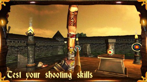 Screenshots of the Archery 3D for Android tablet, phone.
