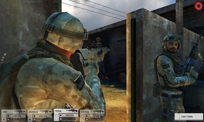 Screenshots of the Arma Tactics THD for Android tablet, phone.