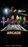 In addition to the game Crazy Monster Wave for Android phones and tablets, you can also download Armada arcade for free.