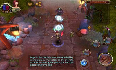 Screenshots of the Armed Heroes for Android tablet, phone.