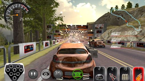 Screenshots of the Armored car HD for Android tablet, phone.