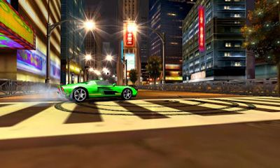 Screenshots of the Asphalt 5 for Android tablet, phone.