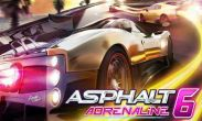 Asphalt 6 Adrenaline HD free download. Asphalt 6 Adrenaline HD full Android apk version for tablets and phones.