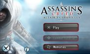 In addition to the game Sonic The Hedgehog 4 for Android phones and tablets, you can also download Assassin's Creed for free.