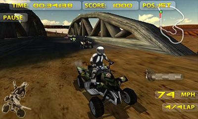 Screenshots of the ATV Madness for Android tablet, phone.
