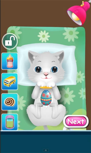 Screenshots of the Baby pet: Vet doctor for Android tablet, phone.