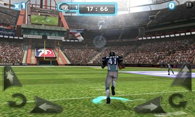 Screenshots of the Backbreaker 2 Vengeance for Android tablet, phone.
