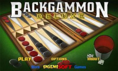 Screenshots of the Backgammon Deluxe for Android tablet, phone.
