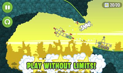 Screenshots of the Bad Piggies for Android tablet, phone.