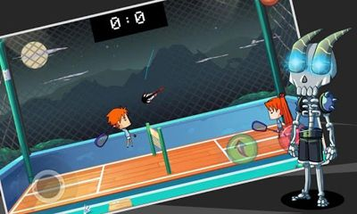 Screenshots of the Badminton for Android tablet, phone.