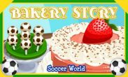 In addition to the game Thor 2: the dark world for Android phones and tablets, you can also download Bakery story: Football for free.