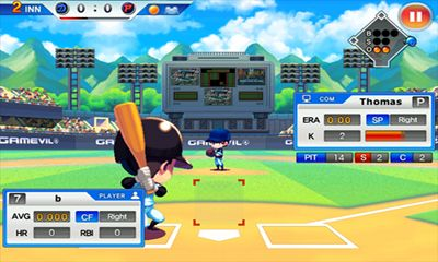 Screenshots of the Baseball Superstars 2012 for Android tablet, phone.