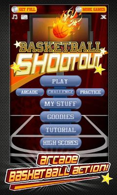 Screenshots of the Basketball Shootout for Android tablet, phone.