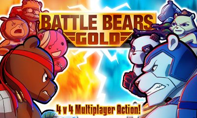 Screenshots of the Battle Bears Gold for Android tablet, phone.